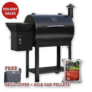 Z-grills Wood Pellet BBQ Grill and Smoker