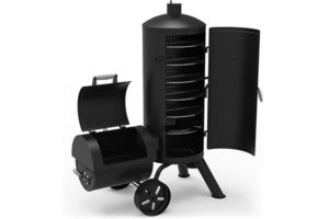Dyna-Glo Vertical Offset Charcoal Smoker and Grill